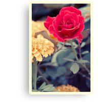 Flowers Yesteryear Canvas Print
