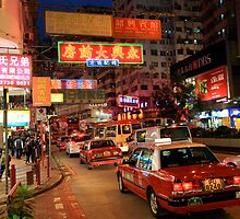Hong Kong Hustle and Bustle. by Cameron B