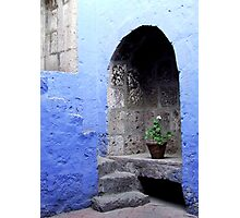 Blue Arch Photographic Print