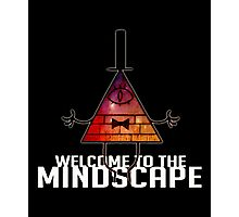 Welcome to The Mindscape -Burning Photographic Print