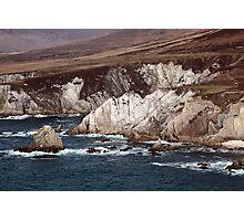 Achill Island Cliffs Photographic Print