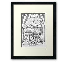 Robot Circus Framed Print