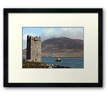 Achill RNLI Lifeboat Station Framed Print