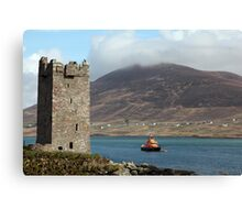 Achill RNLI Lifeboat Station Canvas Print