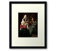 Case Study 1 Framed Print