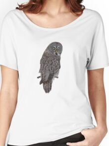 Magnificent Great Grey Owl Women's Relaxed Fit T-Shirt