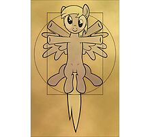 Vitruvian Mare - black Photographic Print