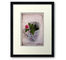 Great Love  Framed Print