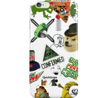 Dank MLG Meme Trash iPhone Case/Skin