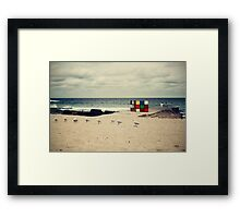 A Moment at Maroubra Framed Print
