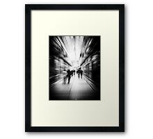 Abstract Arcade Framed Print