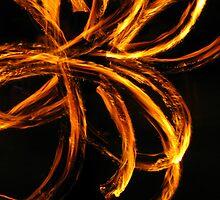 Fire Dancer Swirls by Elaine Farmer