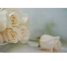 ...a special rose for you....... Photographic Print