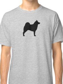 Norwegian Elkhound Silhouette(s) Classic T-Shirt