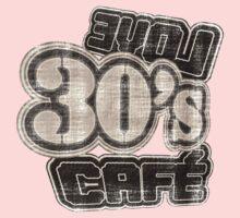 Love 30's Cafe Vintage T-Shirt Kids Clothes