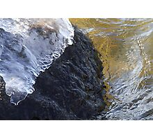 Ice Cap Photographic Print