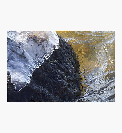 Ice Cap Photographic Print