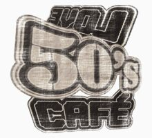 Love 50's Cafe Vintage - T-Shirt Baby Tee