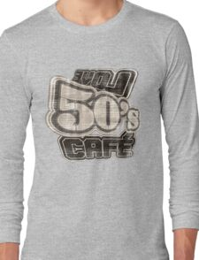 Love 50's Cafe Vintage - T-Shirt Long Sleeve T-Shirt