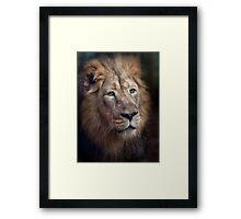 Portrait of the King! Framed Print