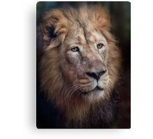 Portrait of the King! Canvas Print