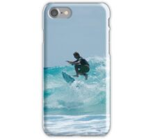 Surfing at Snapper iPhone Case/Skin