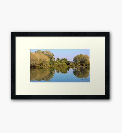 Zambezi River Framed Print