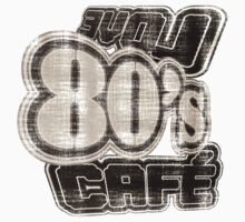 Love 80's Cafe Vintage - T-Shirt by Nhan Ngo