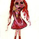 little girl by Thelma Van Rensburg