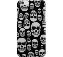 Wall Of Skulls iPhone Case/Skin