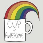 New cup of awesome by breathee