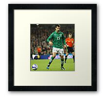 International Football Framed Print