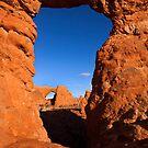 Double Desert Window by DawsonImages
