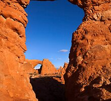 Double Desert Window by DawsonImages