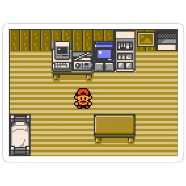 Pokemon Gold/Silver/Crystal House by Mixtape