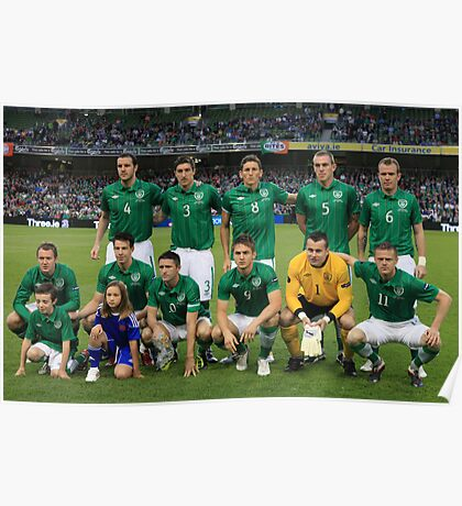 Rep of Ireland football team Poster