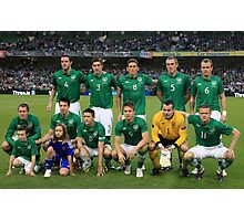 Rep of Ireland football team Photographic Print
