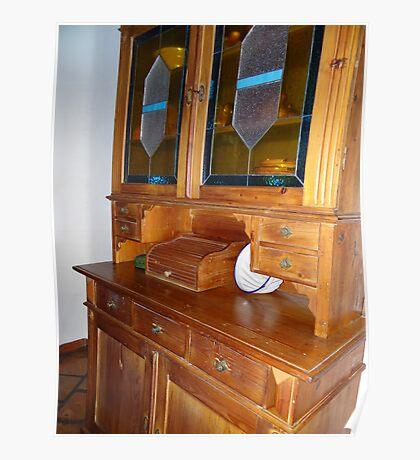 My Grandmothers Kitchen Cabinet - Armario de la Cocina de mi Abuela Poster