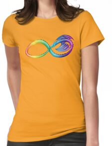 Spectrum Infinity Dragon Womens Fitted T-Shirt