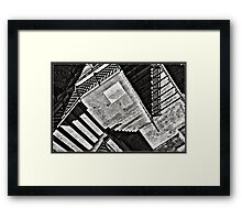 Tribute to Escher Framed Print