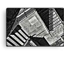 Tribute to Escher Canvas Print