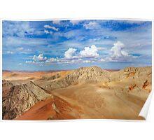 petrified dunes Poster