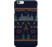 Ugly Potter Christmas Sweater iPhone Case/Skin