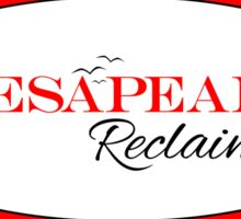 Chesapeake Reclaimed Sticker