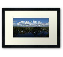 River Murray In Flood Framed Print
