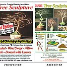 How To Create Beaded & Wire Tree Sculpture - Printed Book by Sal Villano