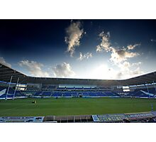 Cardiff Blues Stadium Photographic Print
