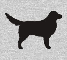 Nova Scotia Duck Tolling Retriever Silhouette(s) by Jenn Inashvili