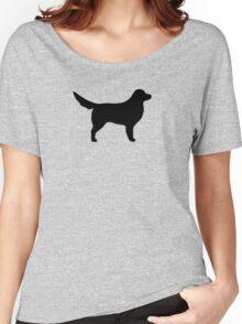 Nova Scotia Duck Tolling Retriever Silhouette(s) Women's Relaxed Fit T-Shirt