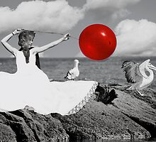 Follow the Red Ballon... by Karen  Helgesen